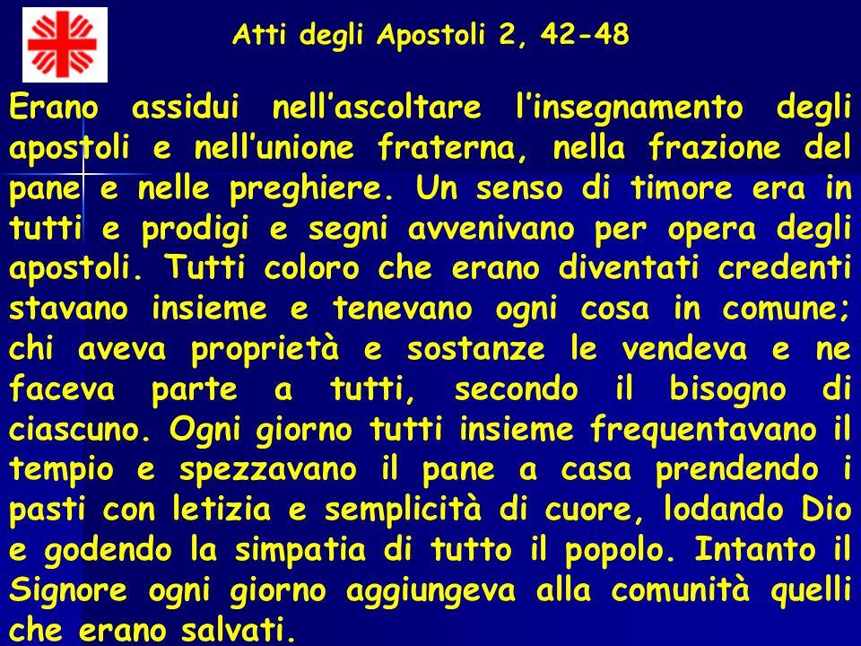 Atti degli Apostoli 2, 42-48