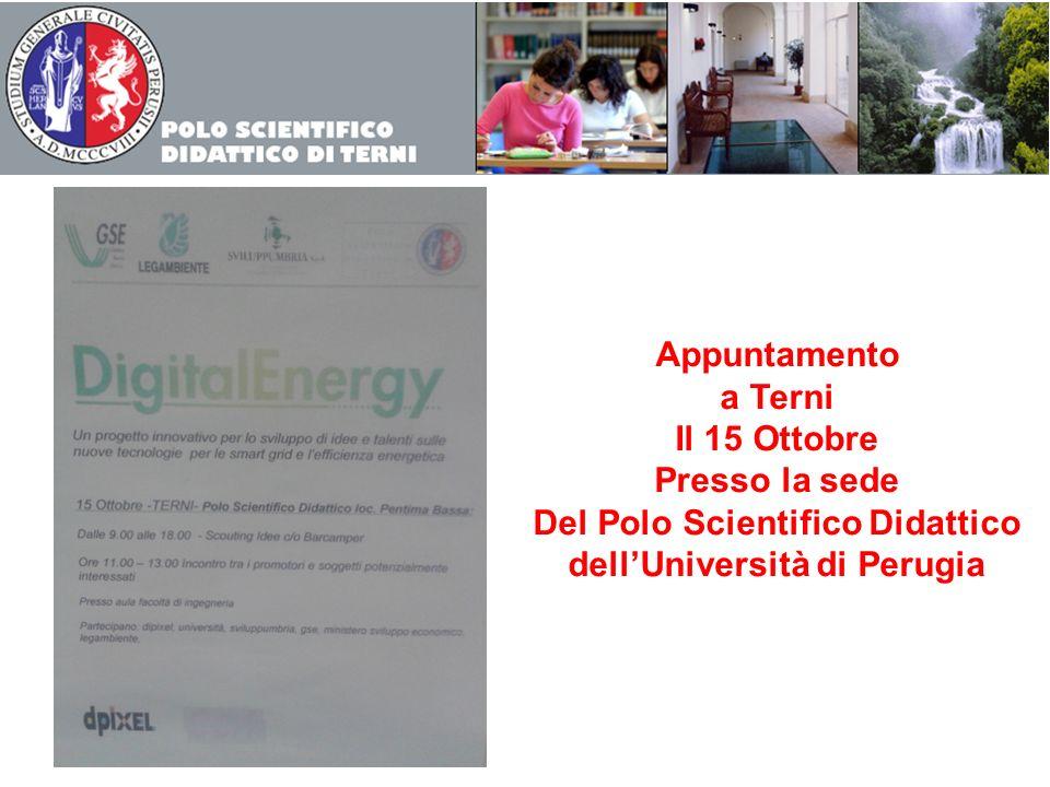 Del Polo Scientifico Didattico dell'Università di Perugia