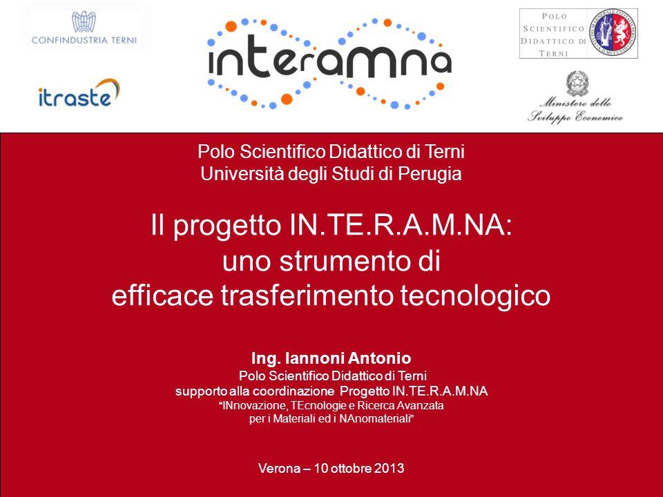 Il progetto IN.TE.R.A.M.NA: uno strumento di