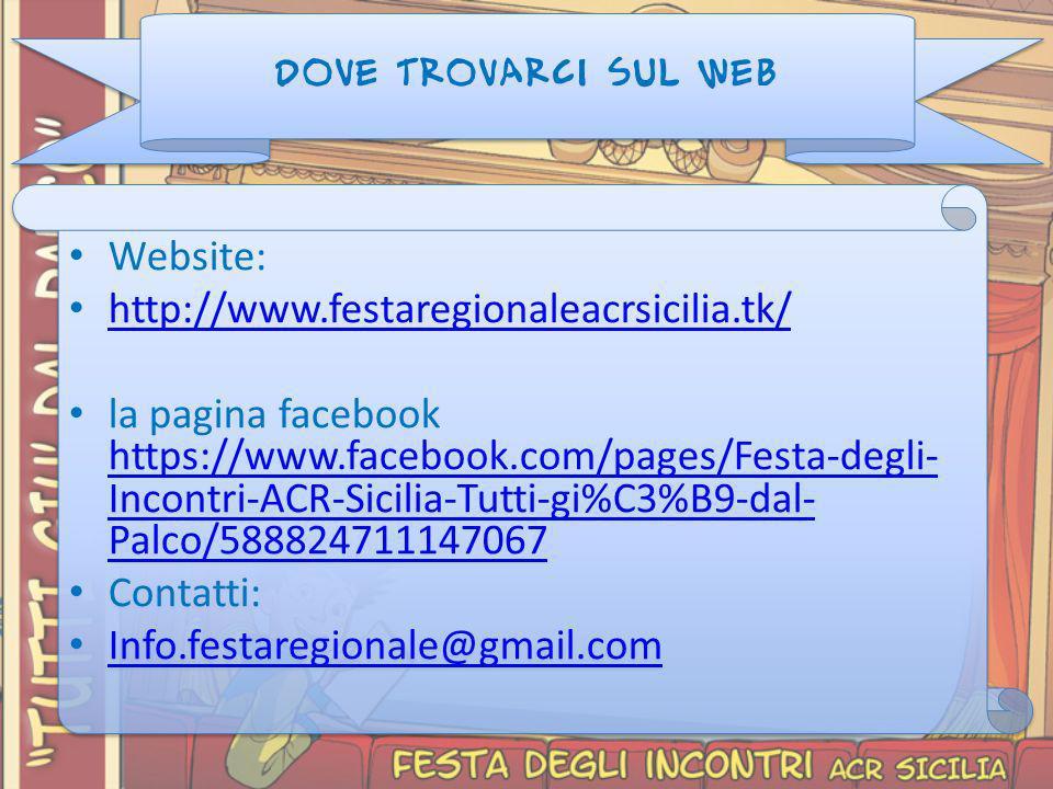Website: http://www.festaregionaleacrsicilia.tk/
