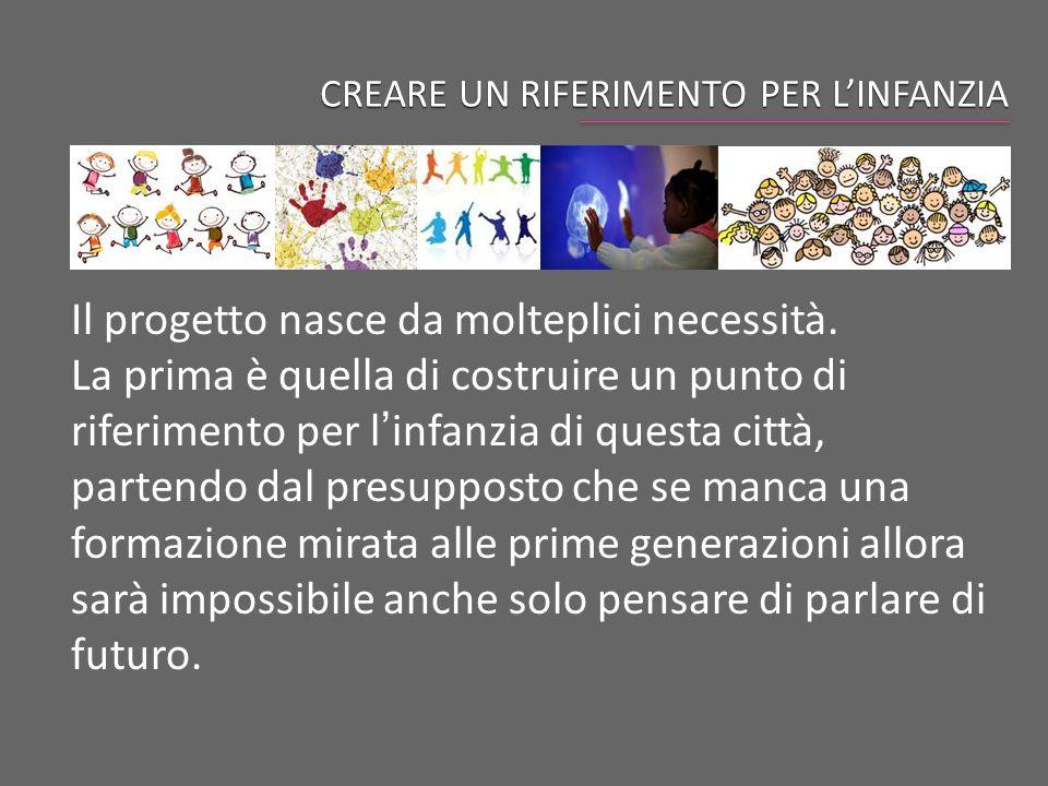 CREARE UN RIFERIMENTO PER L'INFANZIA