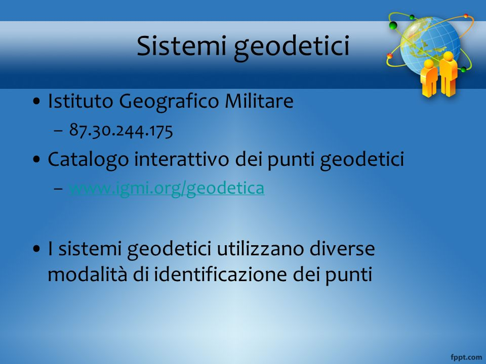 Sistemi geodetici Istituto Geografico Militare