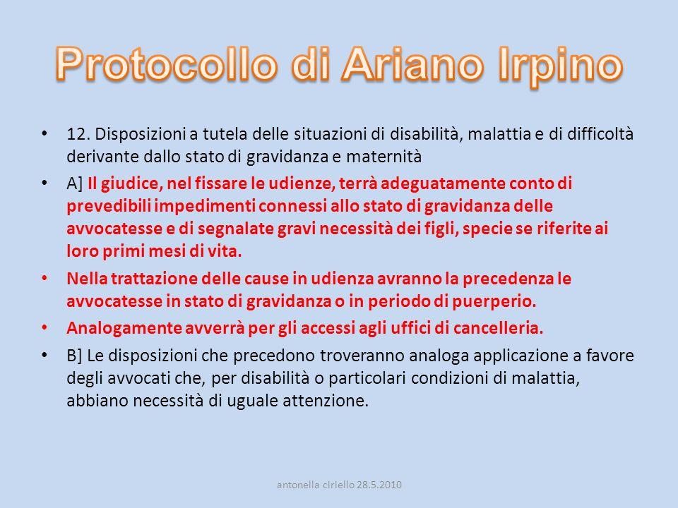Protocollo di Ariano Irpino