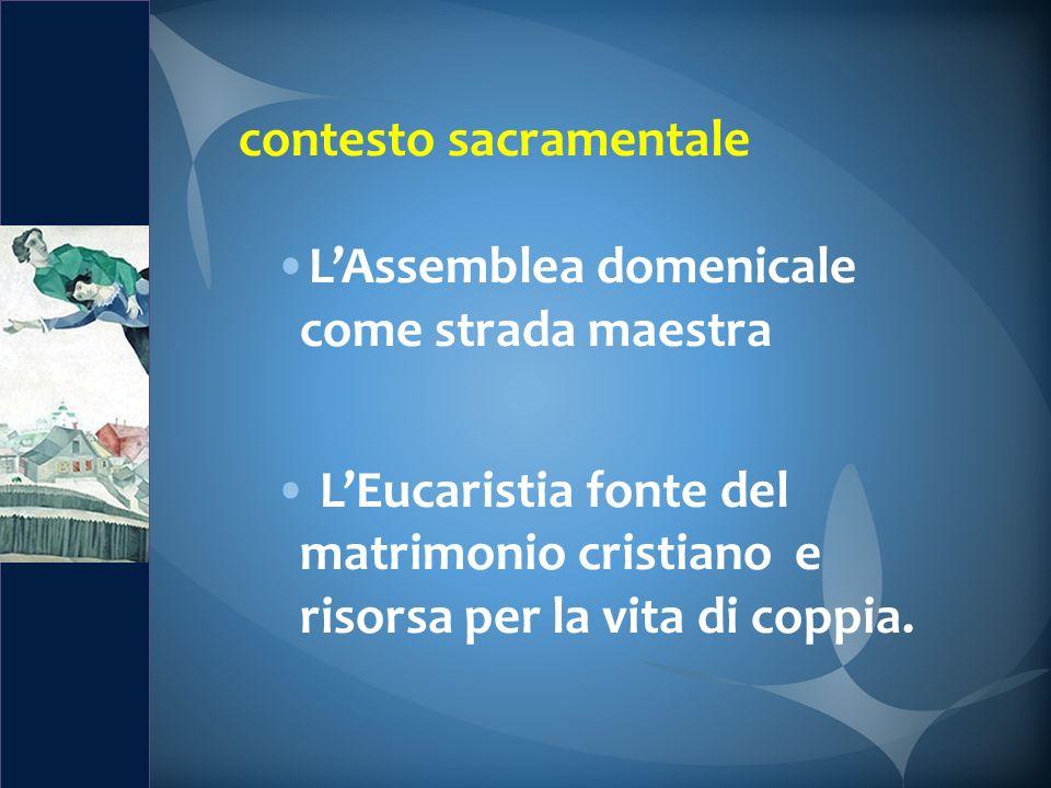 contesto sacramentale