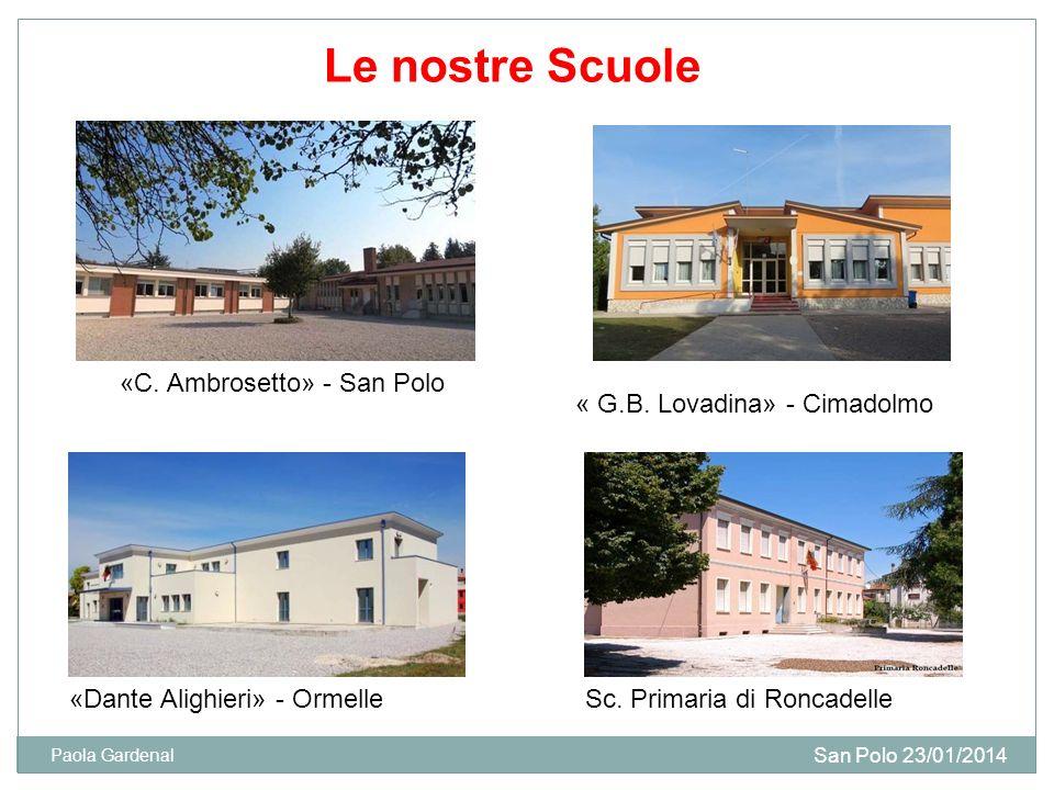 Le nostre Scuole «C. Ambrosetto» - San Polo