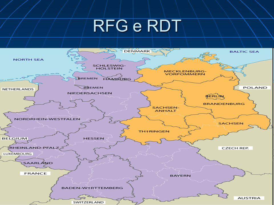 RFG e RDT