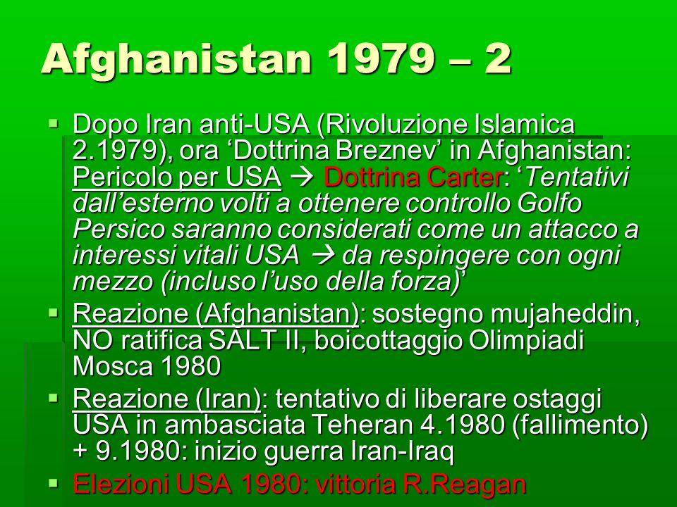 Afghanistan 1979 – 2