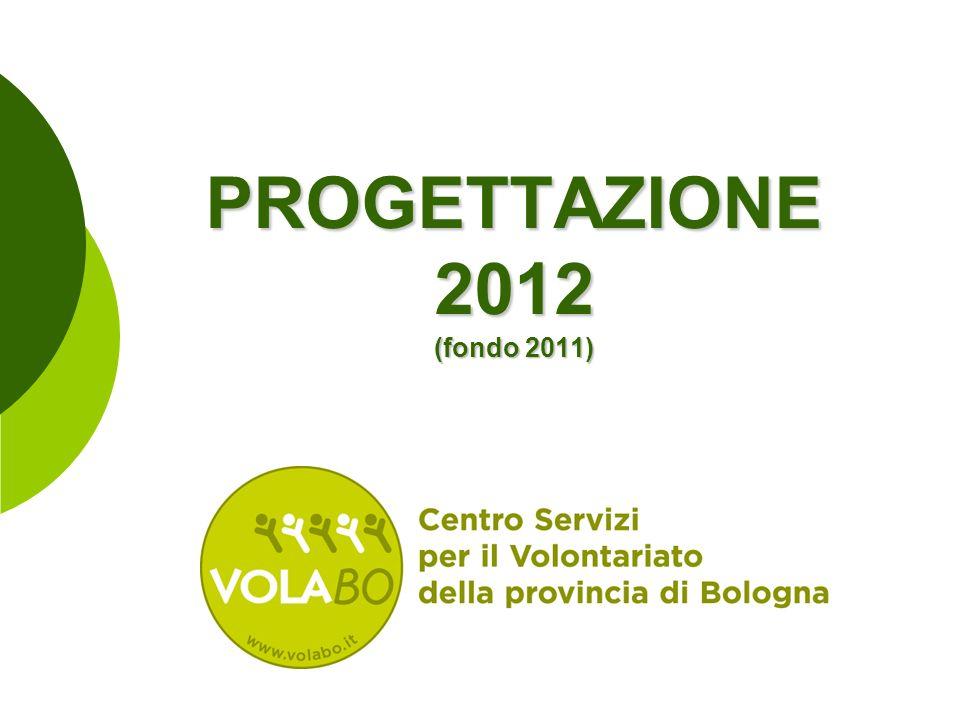 PROGETTAZIONE 2012 (fondo 2011)