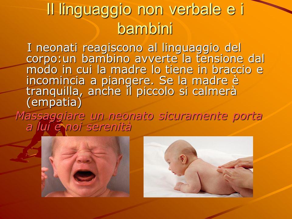Il linguaggio non verbale e i bambini
