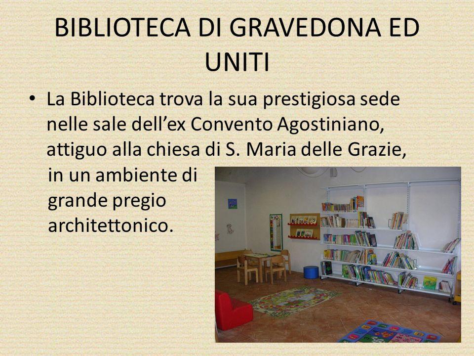 BIBLIOTECA DI GRAVEDONA ED UNITI