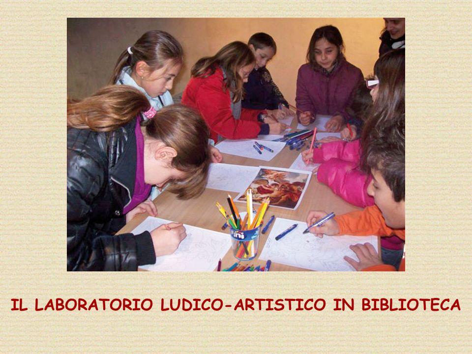 IL LABORATORIO LUDICO-ARTISTICO IN BIBLIOTECA