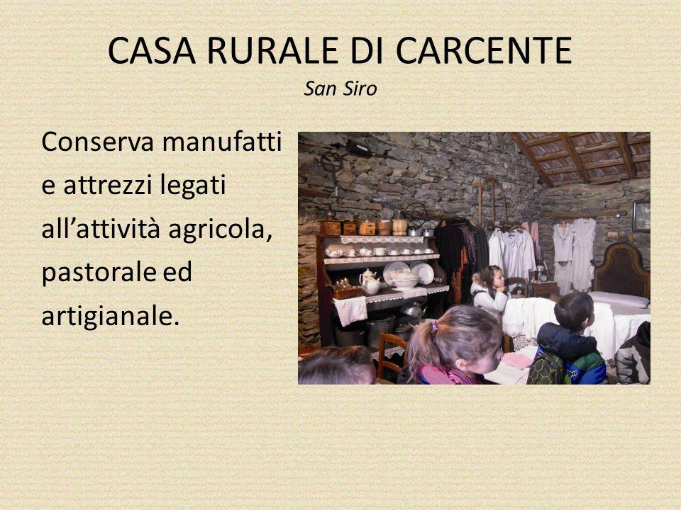 CASA RURALE DI CARCENTE San Siro