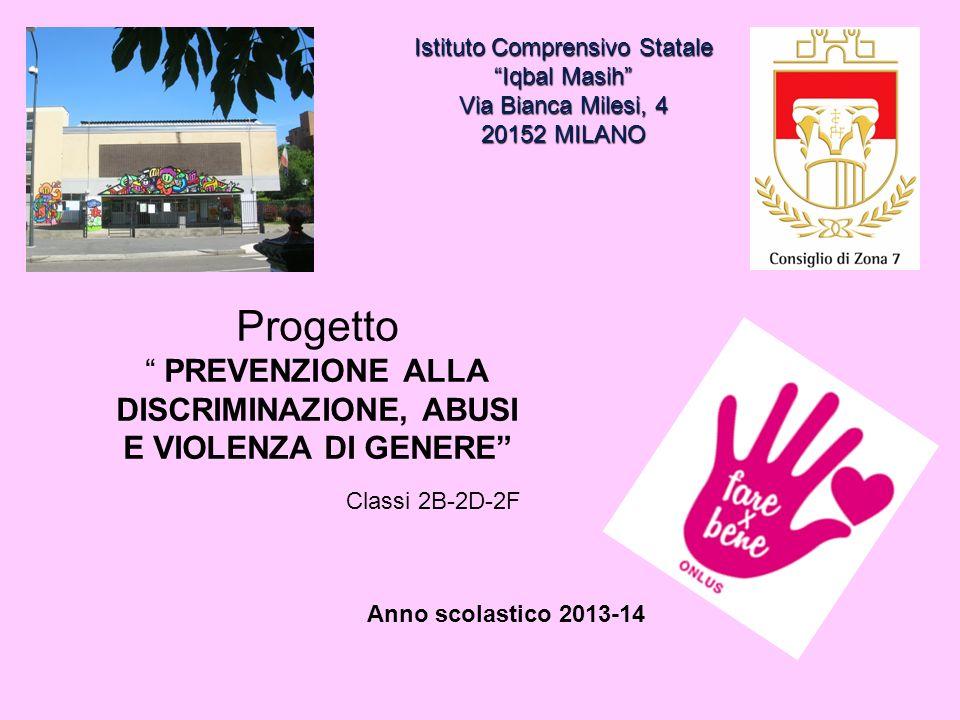 Istituto Comprensivo Statale Iqbal Masih Via Bianca Milesi, 4 20152 MILANO