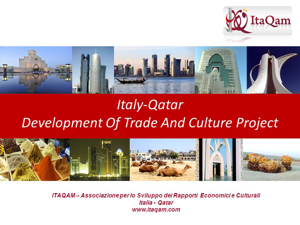 Development Of Trade And Culture Project