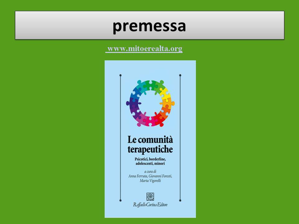 premessa www.mitoerealta.org