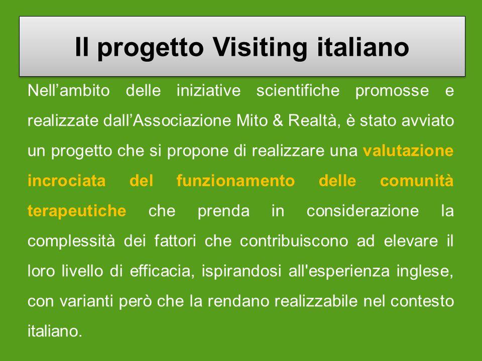 Il progetto Visiting italiano