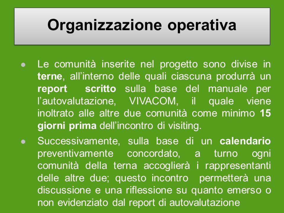 Organizzazione operativa