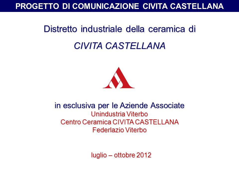 PROGETTO DI COMUNICAZIONE CIVITA CASTELLANA