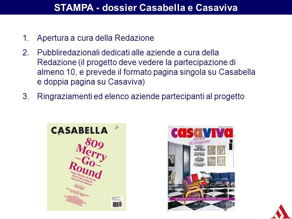STAMPA - dossier Casabella e Casaviva