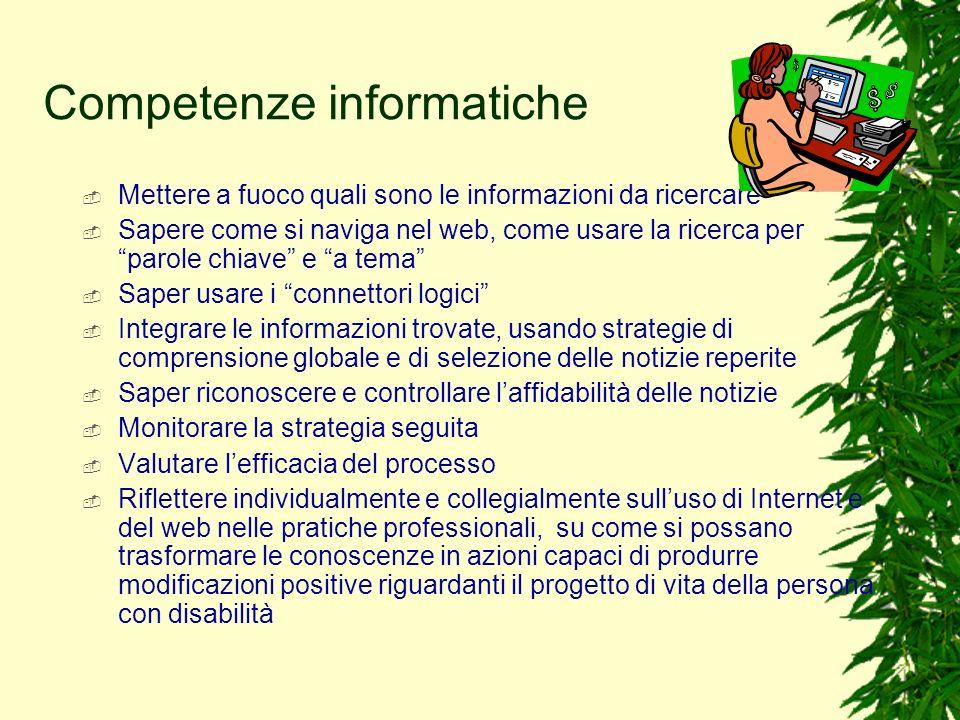Competenze informatiche