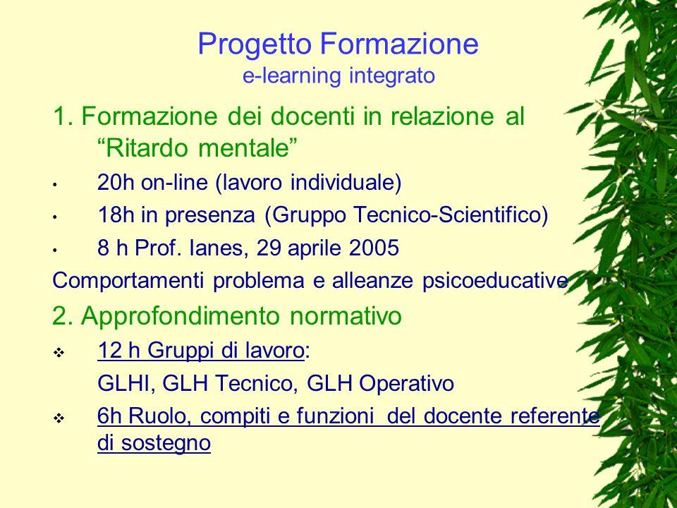 Progetto Formazione e-learning integrato