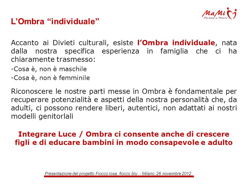 L'Ombra individuale