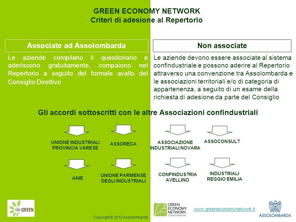 Gli accordi sottoscritti con le altre Associazioni confindustriali