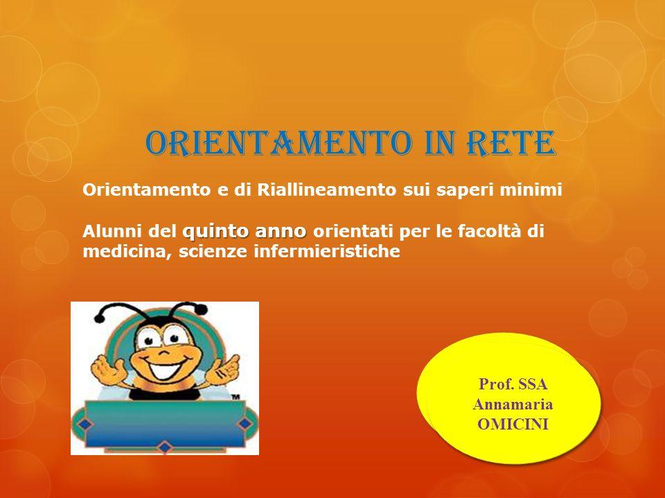 Prof. SSA Annamaria OMICINI