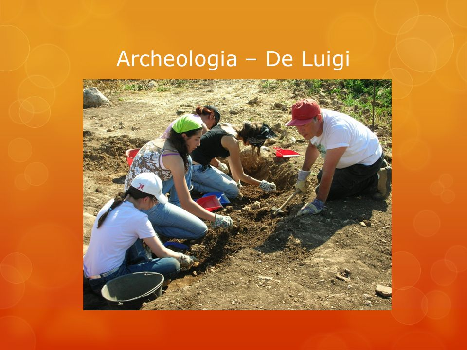 Archeologia – De Luigi