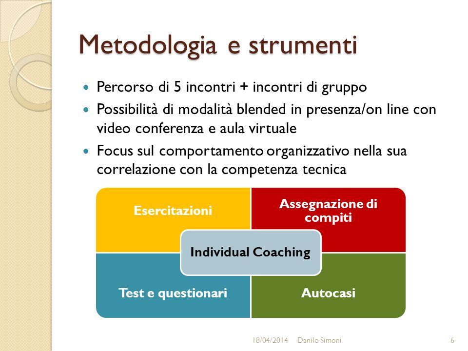 Metodologia e strumenti