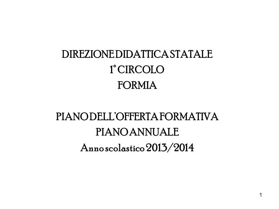 DIREZIONE DIDATTICA STATALE PIANO DELL'OFFERTA FORMATIVA