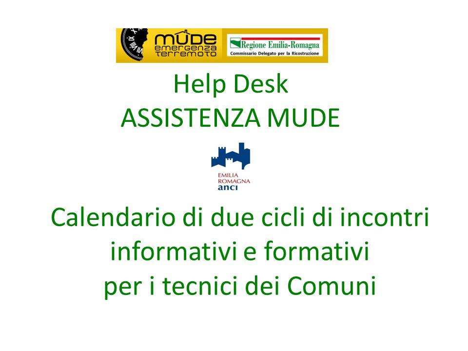 Help Desk ASSISTENZA MUDE