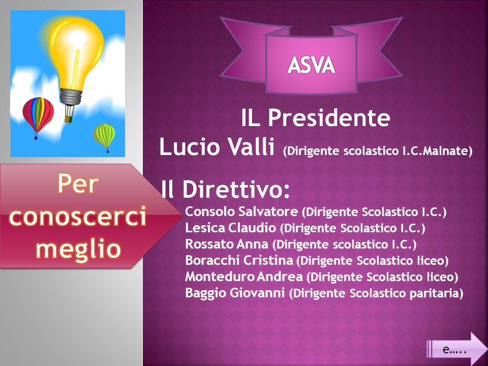 Lucio Valli (Dirigente scolastico I.C.Malnate)