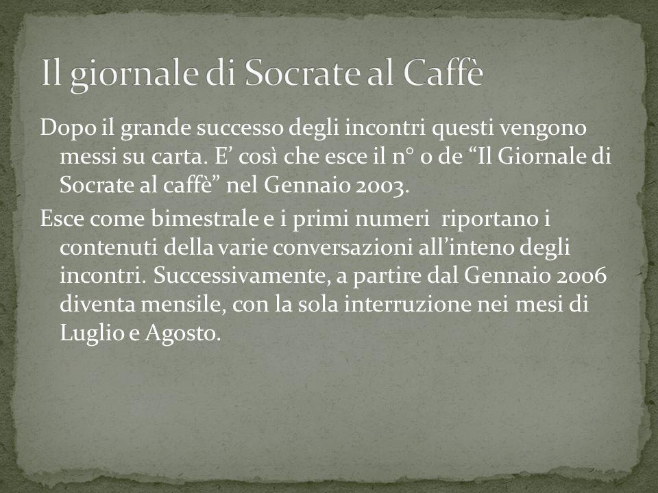 Il giornale di Socrate al Caffè