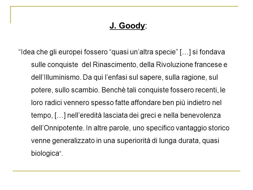 J. Goody: