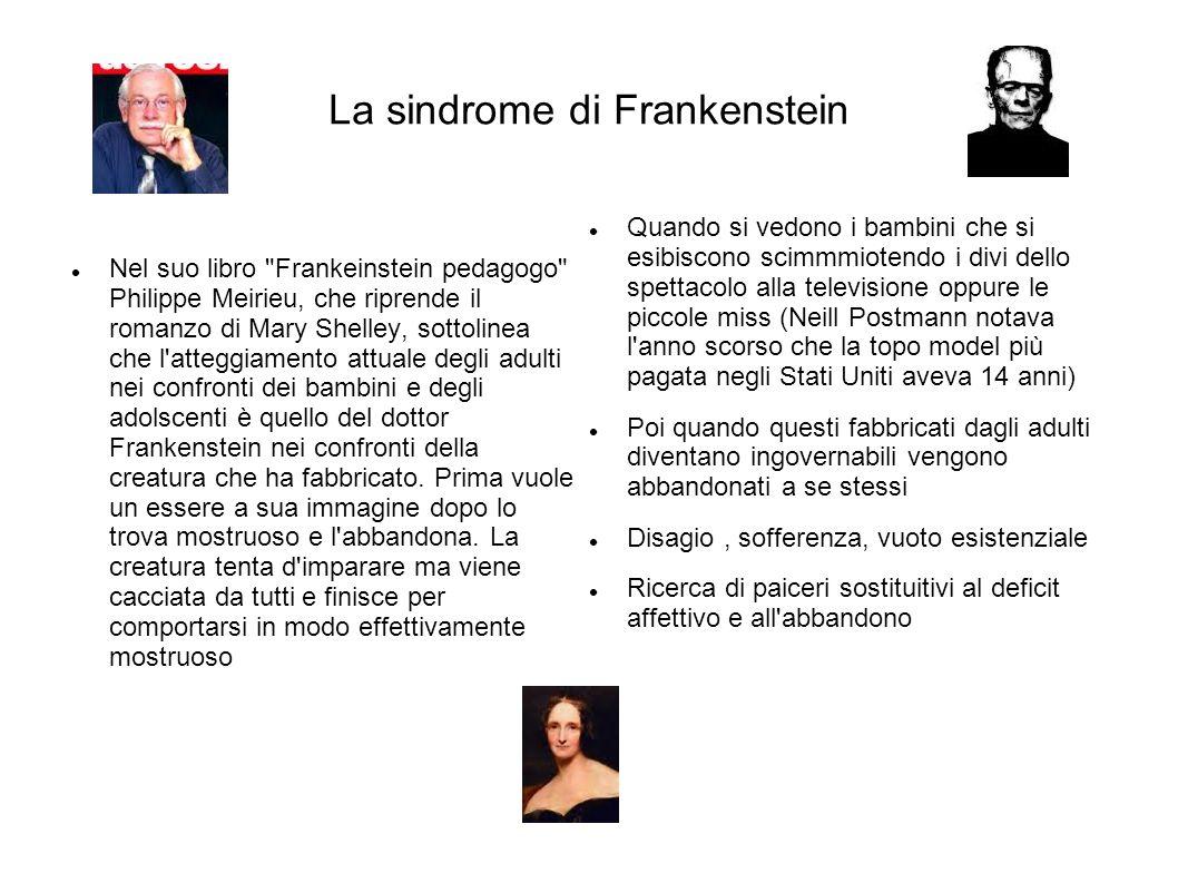 La sindrome di Frankenstein