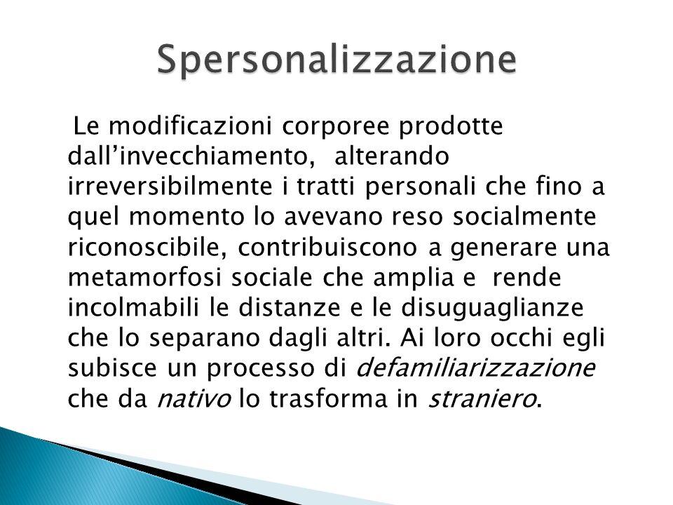 Spersonalizzazione