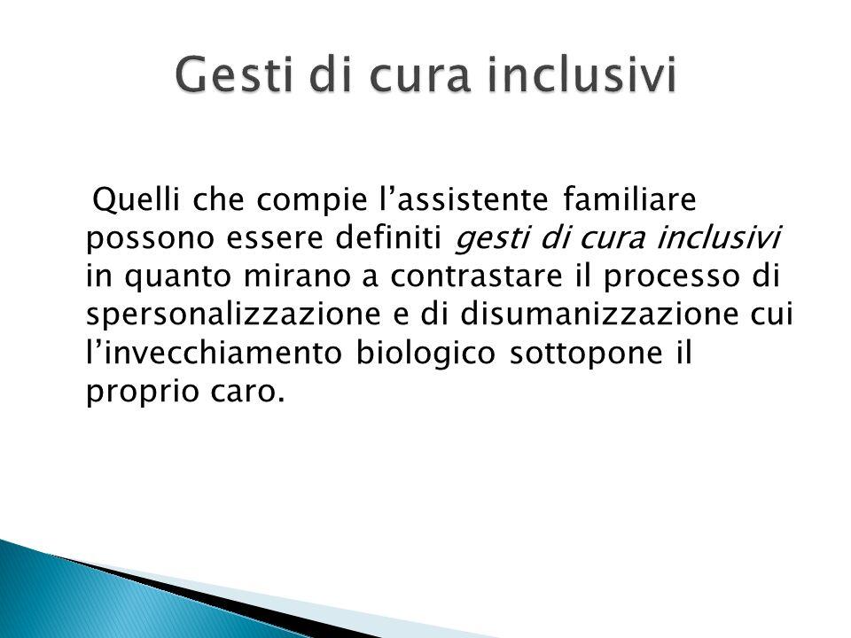 Gesti di cura inclusivi