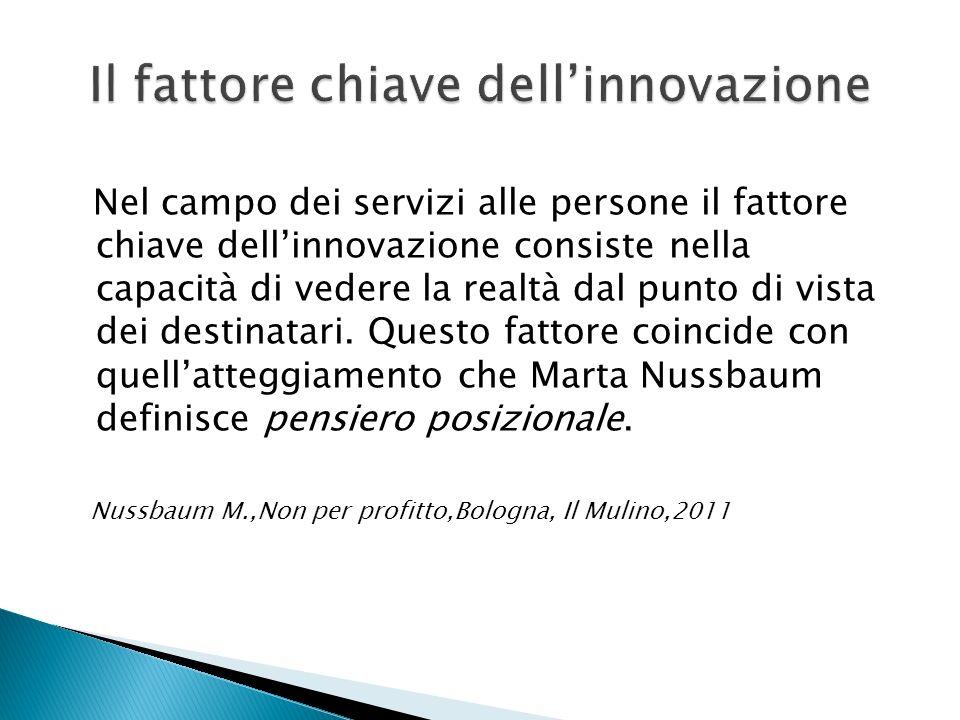 Il fattore chiave dell'innovazione