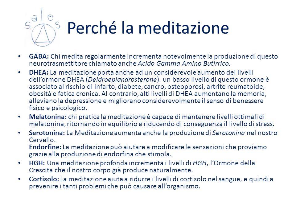 Perché la meditazione