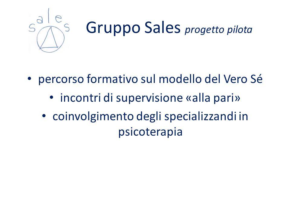 Gruppo Sales progetto pilota