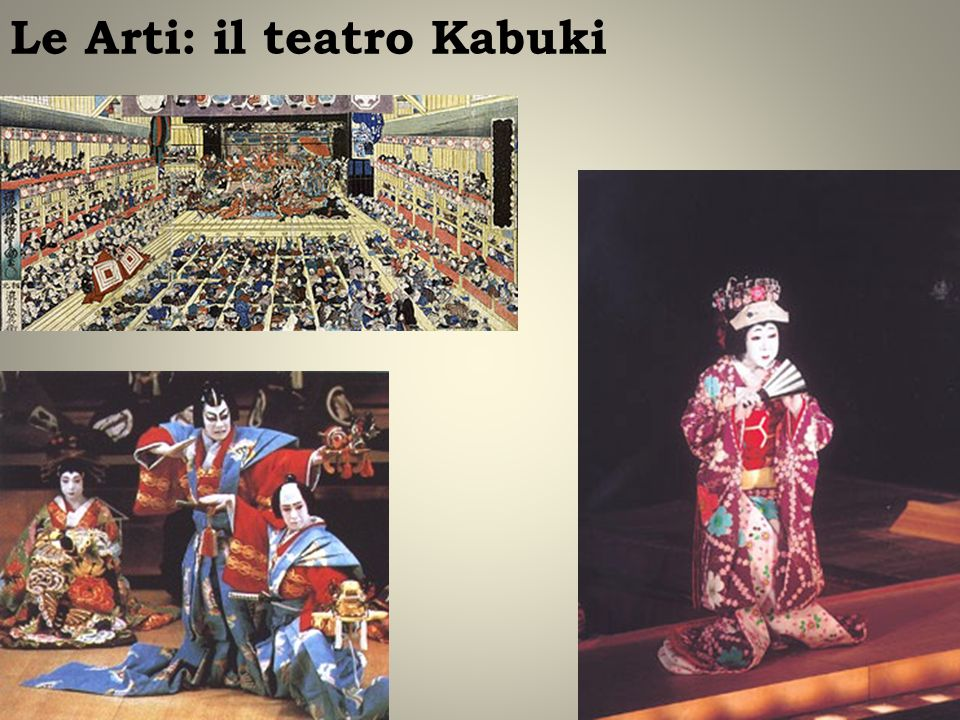 Le Arti: il teatro Kabuki