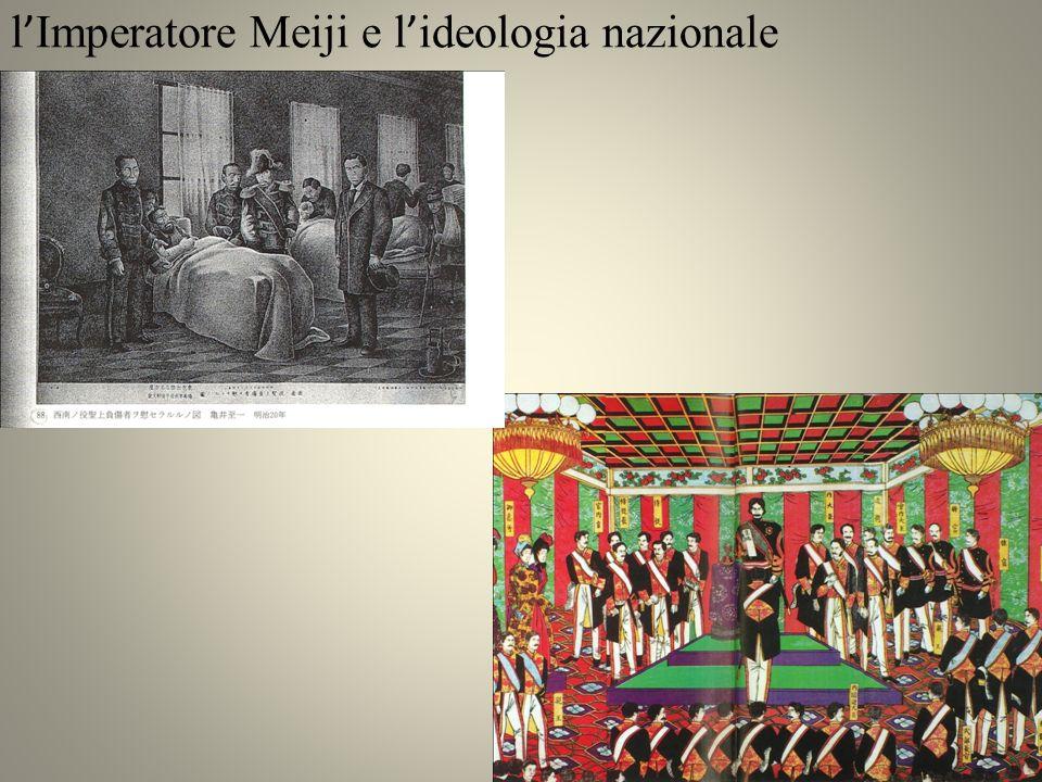 l'Imperatore Meiji e l'ideologia nazionale