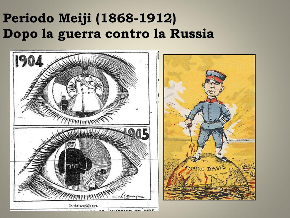Periodo Meiji (1868-1912) Dopo la guerra contro la Russia