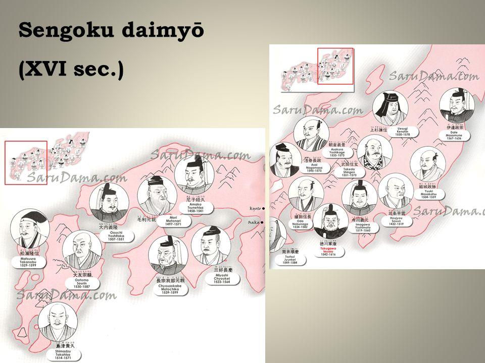 Sengoku daimyō (XVI sec.)
