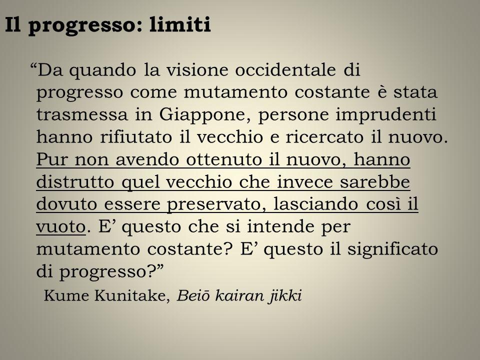 Il progresso: limiti