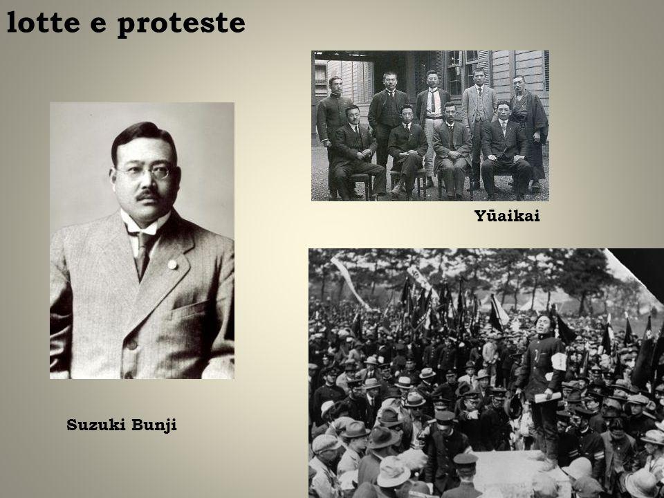 lotte e proteste Yūaikai Suzuki Bunji