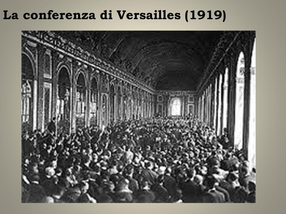 La conferenza di Versailles (1919)