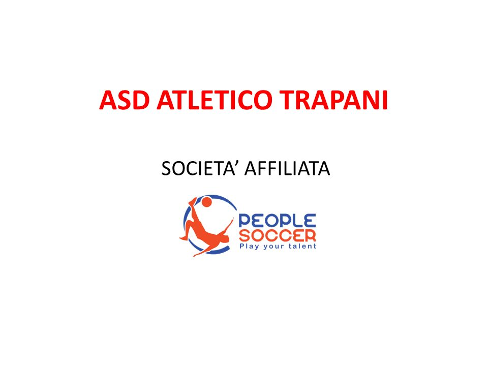 ASD ATLETICO TRAPANI SOCIETA' AFFILIATA