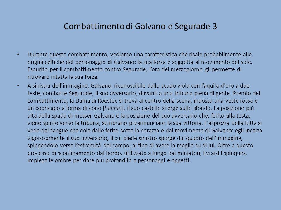 Combattimento di Galvano e Segurade 3